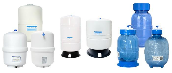 معرفی انواع مخزن دستگاه تصفیه آب